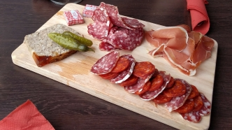 Planche charcuterie Monsieur Joe restaurant bar Rennes