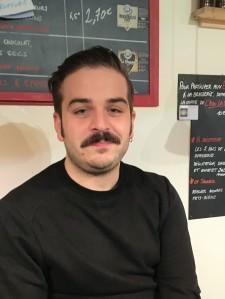 Clément, brasseur moustachu et passionné